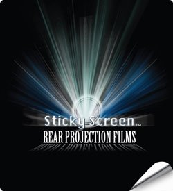 Sticky Screen Rear Projection Film